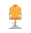barber chair hair salon hairdresser shop design vector image