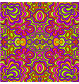 seamless doodle hand-drawn pattern vector image