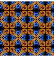 square ethnic seamless pattern vector image