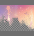 abstract watercolor border vector image