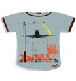 T-shirt design vector image vector image