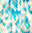 blue romb grunge seamless vector image
