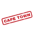 Cape Town Rubber Stamp vector image