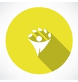 eco men icons vector image vector image