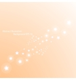 Magic stars way Abstract background vector image