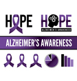 Alzheimers Graphics vector image