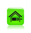 home paint icon vector image