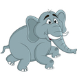 funny elephants cartoon vector image