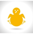 Little bird icon vector image