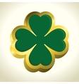 saint patrick day clover vector image