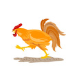 Rooster Cockerel Cock Retro vector image