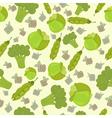 Eco bio broccoli vector image