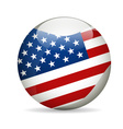 United State of America Flag vector image