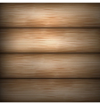 brown wooden background vector image
