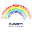 Ink rainbow Abstract background vector image