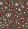 ornate tiles seamless pattern fabric colorful vector image