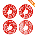 Rubber stamp best chocie - - EPS10 vector image