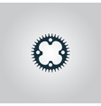 bicycle sprocket vector image