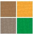 Stone textures set vector image