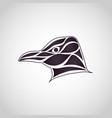 penguin logo icon vector image