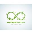 Renewable Energy Abstract Logo Template vector image