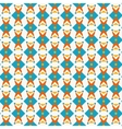 Seamless retro wallpaper pattern vector image