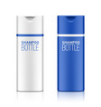 shampoo cosmetic bottle template for your design vector image