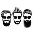 Hipster style and fashion set vector image vector image