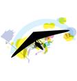 Hang Glider vector image vector image