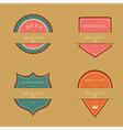 Label Design Set vector image