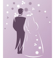 wedding3 vector image vector image