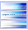 Concept business background Set of 3 banners vector image