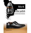 men shoes realistic set vector image