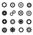 gearwheel mechanism vector image