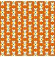 Seamless retro wallpaper pattern vector image vector image