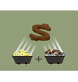 money project vector image