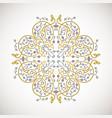 ornamental decorative elemen vector image