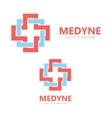 Medical logo or icon vector image
