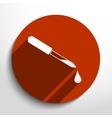 dropper web icon vector image