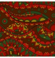 mexican wave seamless pattern vector image