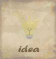 Ideas vector image vector image