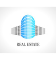Real Estate abstract design template Realty icon vector image