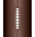 American Football Ball Background vector image