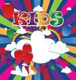 kids 6 vector image