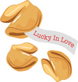 Lucky In Love vector image