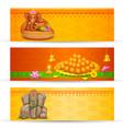 Banner for Ganesh Chaturthi vector image