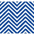 Chevron Blue Seamless Pattern vector image