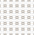 Delicate abstract seamless pattern with stylized vector image vector image