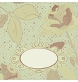 Floral backgrounds vintage vector image vector image