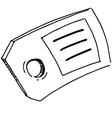 Badge or label symbol vector image